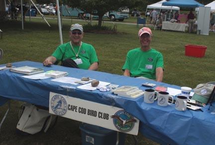 Cape Cod Bird Club at Brewster Conservation Days